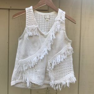 Anthropologie Chunky Knit Tank